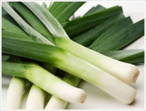 growing leeks for the kitchen