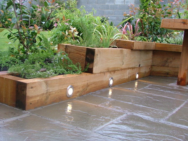 Garden Design Garden Design with Concrete Block Raised Bed Garden