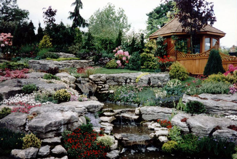 Rock garden ideas planning and building a rockery garden for Rockery designs for small gardens