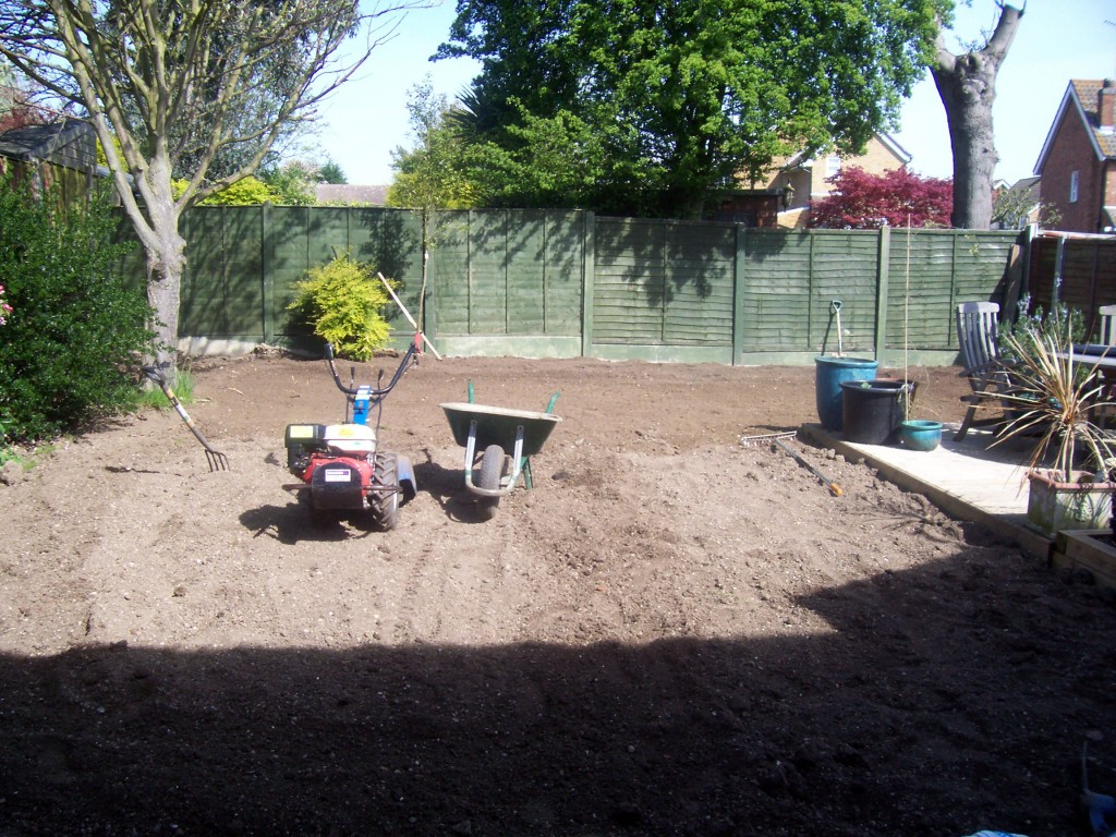 How To Start A Garden And Sowing Lawn Seed
