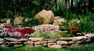 Rock Landscaping Ideas - Flat and Sloping Sites