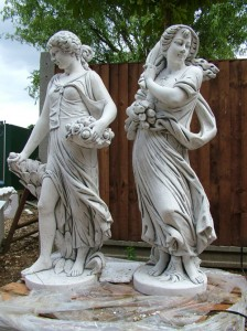 garden ornaments - garden landscape ideas
