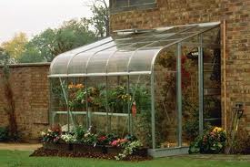 types of greenhouses - curvilinear greenhouse