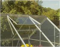 type of glass used for greenhouses