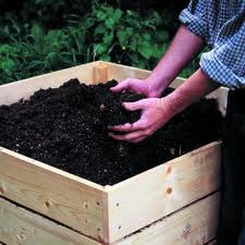 Mixing and Storing Garden Compost
