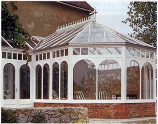 traditional design conservatory - blends well with most settings